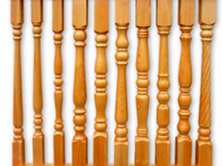 Балясины деревянные резные Балясины из дерева фото